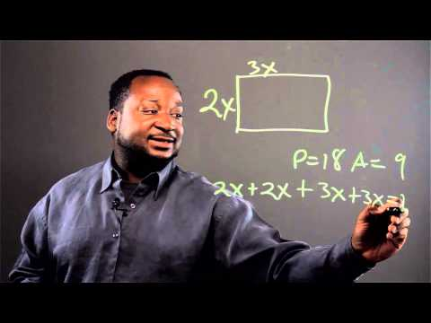 How to Find Length & Width When You Know the Perimeter & Square Area : Math Skills
