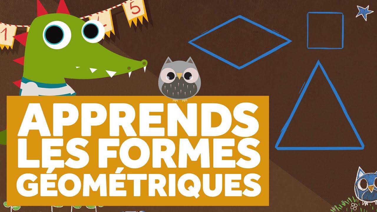 Figury geometryczne - nagłówek - Francuski przy kawie