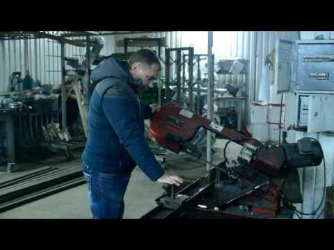 Опыт эксплуатации ленточной пилы по металлу производства Китай.