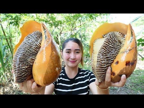 Yummy Monster Sea Snail Salad Cooking – Monster Sea Snail Cooking – Cooking With Sros
