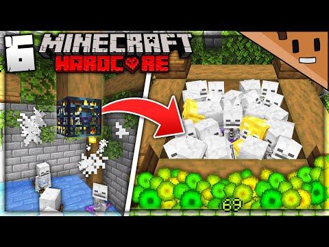 I Built an INSANE Mob Spawner Farm in Minecraft Hardcore… (#6)