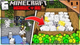 I Built an INSANE Mob Spawner Farm in Minecraft Hardcore... (#6)