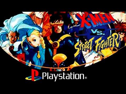 X-Men VS. Street Fighter [PlayStation]