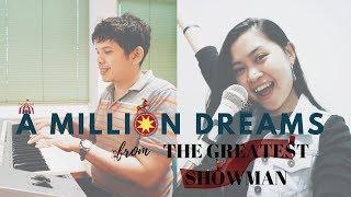 Download Lagu #4 A MILLION DREAMS (COVER) - THE GREATEST SHOWMAN OST ✨ 🎩 Mp3