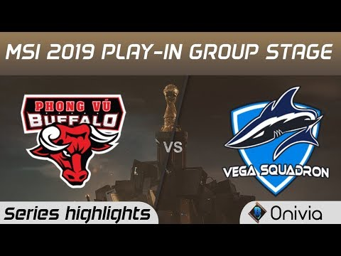PVB vs VEG Highlights All Games MSI 2019 Play in Knockout Stage Phong Vu Buffalo vs Vega Squadron by