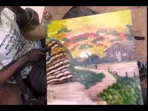 Amazing Hand-Painting Skills.