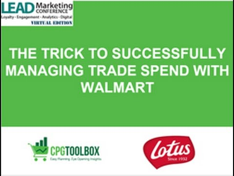 The Trick To Successfully Managing Trade Spend with Walmart