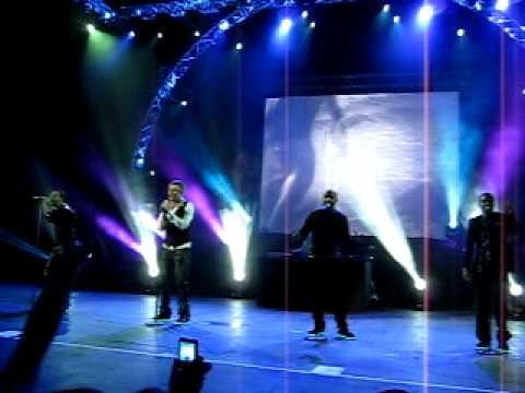 Backstreet boys in Moscow 2009 - As long as you love me