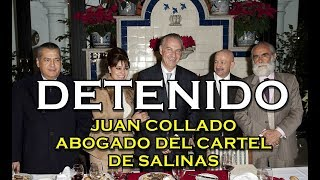 Detienen a Juan Collado amigo de Salinas, Peña Nieto, Diego de Cevallos