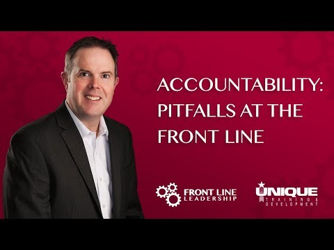 Accountability: Pitfalls at the Front Line