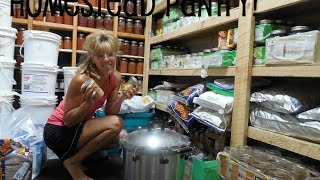 Off Grid Living: The Importance Of A Homestead Pantry