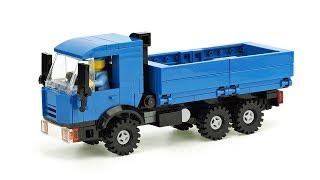 Інструкції по збірці Лего синій вантажівках '' КамАЗа' Мос