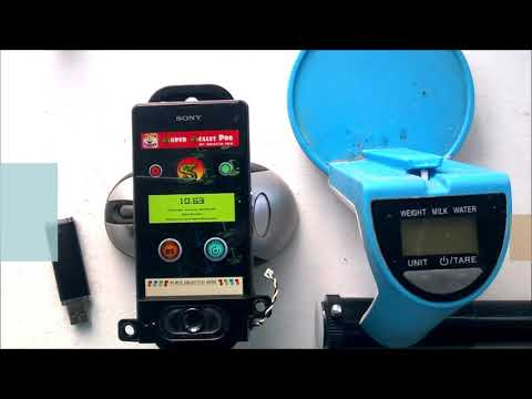 Super Scales Digital Scale App Demonstration