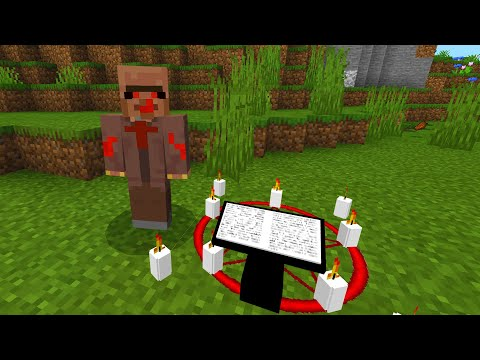 Creepy villager has one final request in Minecraft..