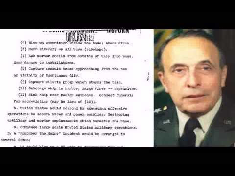 911 Bilderberg ~ US military plans terrorist attacks on America UNCLASSIFIED Operation Northwoods