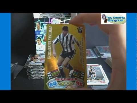 Opening a Box of Topps Match Attax 2011 / 2012 Trading Card Game Packs (Part 5)