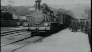 Прибытие поезда на вокзал Ла Сьота (1896)