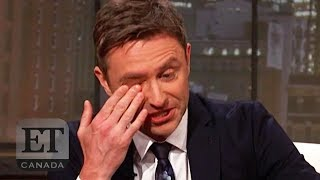 Chris Hardwick Cries During 'Talking Dead' Return