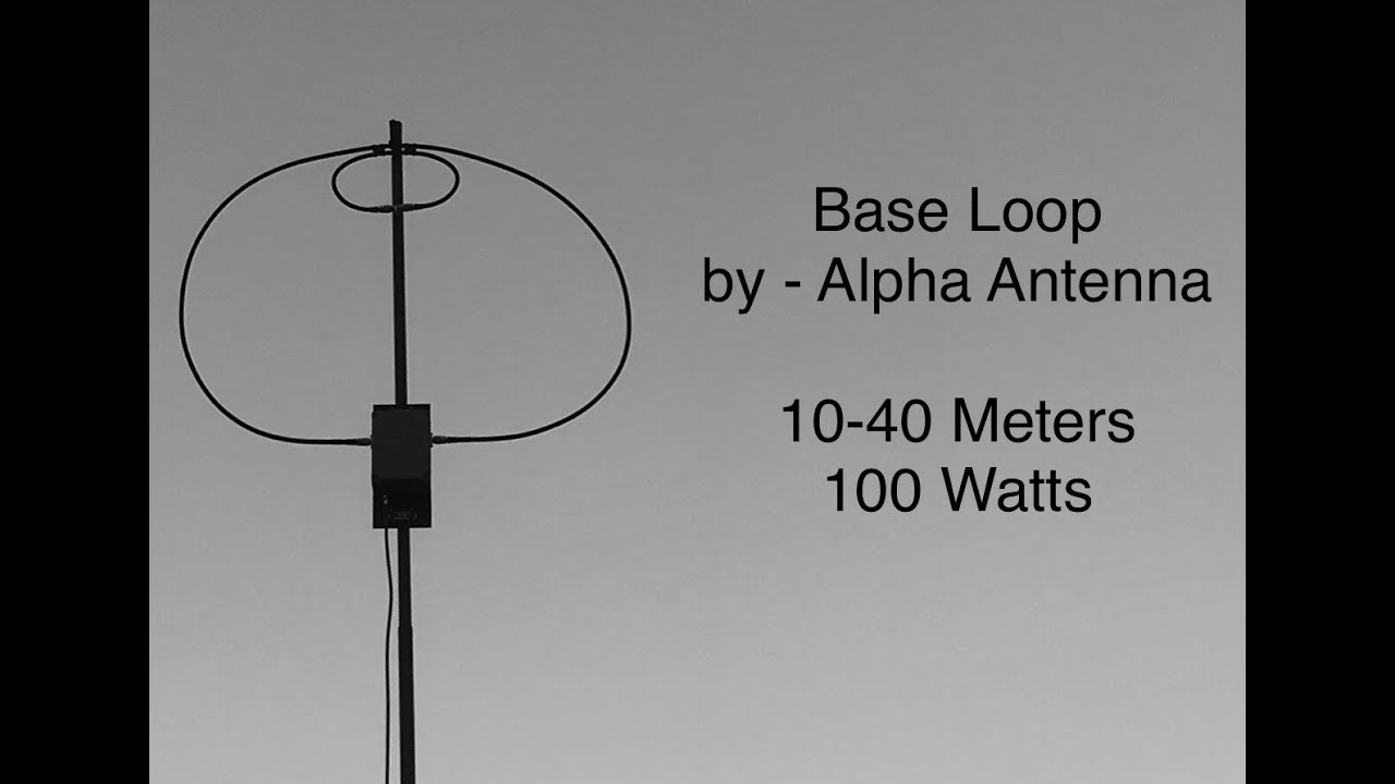 medium resolution of base loop for 10 40m 100 watts by www alphaantenna com for magnetic magloop antennas alpha antenna