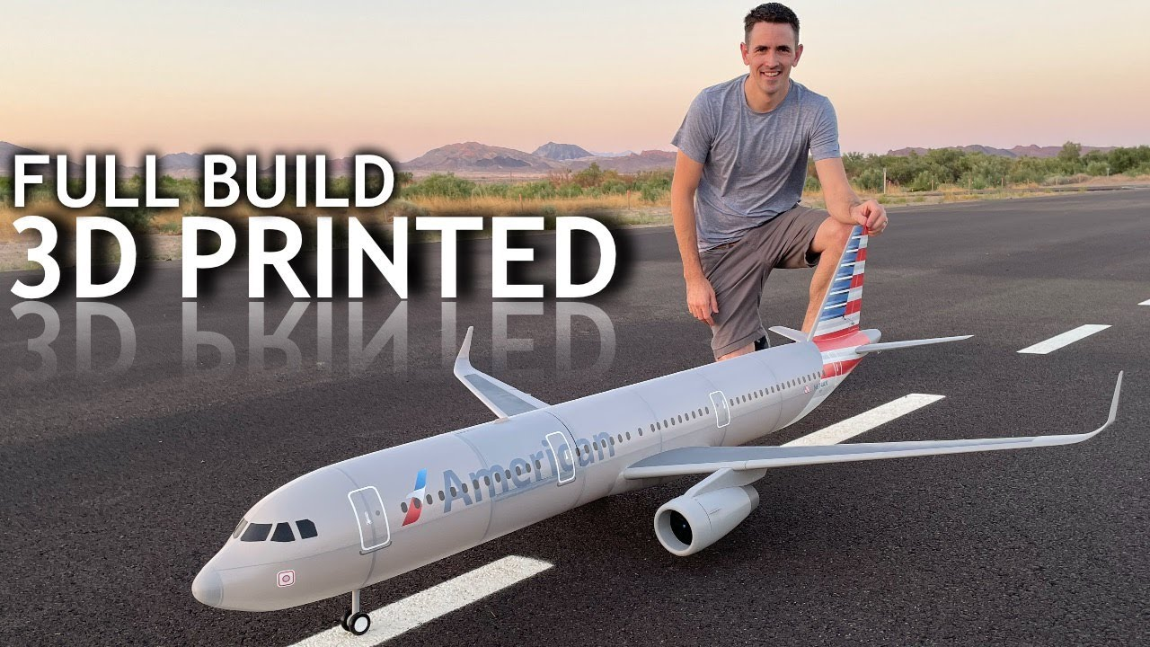 Giant RC Airliner BUILD | FLIGHT | CRASH all in 1 video
