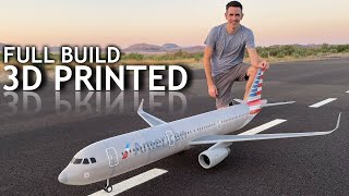 Giant RC Airliner BUILD   FLIGHT   CRASH all in 1 video