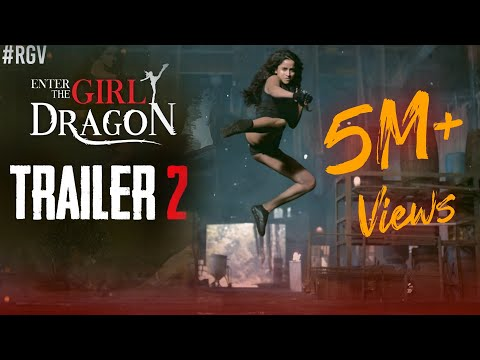 Enter The Girl Dragon Trailer 2 | RGV | Indias First Martial Arts Film | Pooja Bhalekar