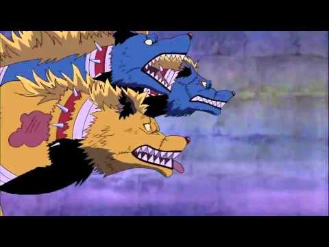 One Piece Funny scene Cerberus