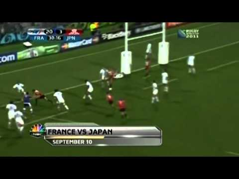 2011 Rugby World Cup Top Tries & Hits