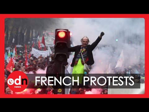 Clashes In France Amid Drawn-Out Protest Over Pension Reform
