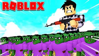 I'M CREATING MY ARMY OF ZOMBIES! Roblox Infection Inc.
