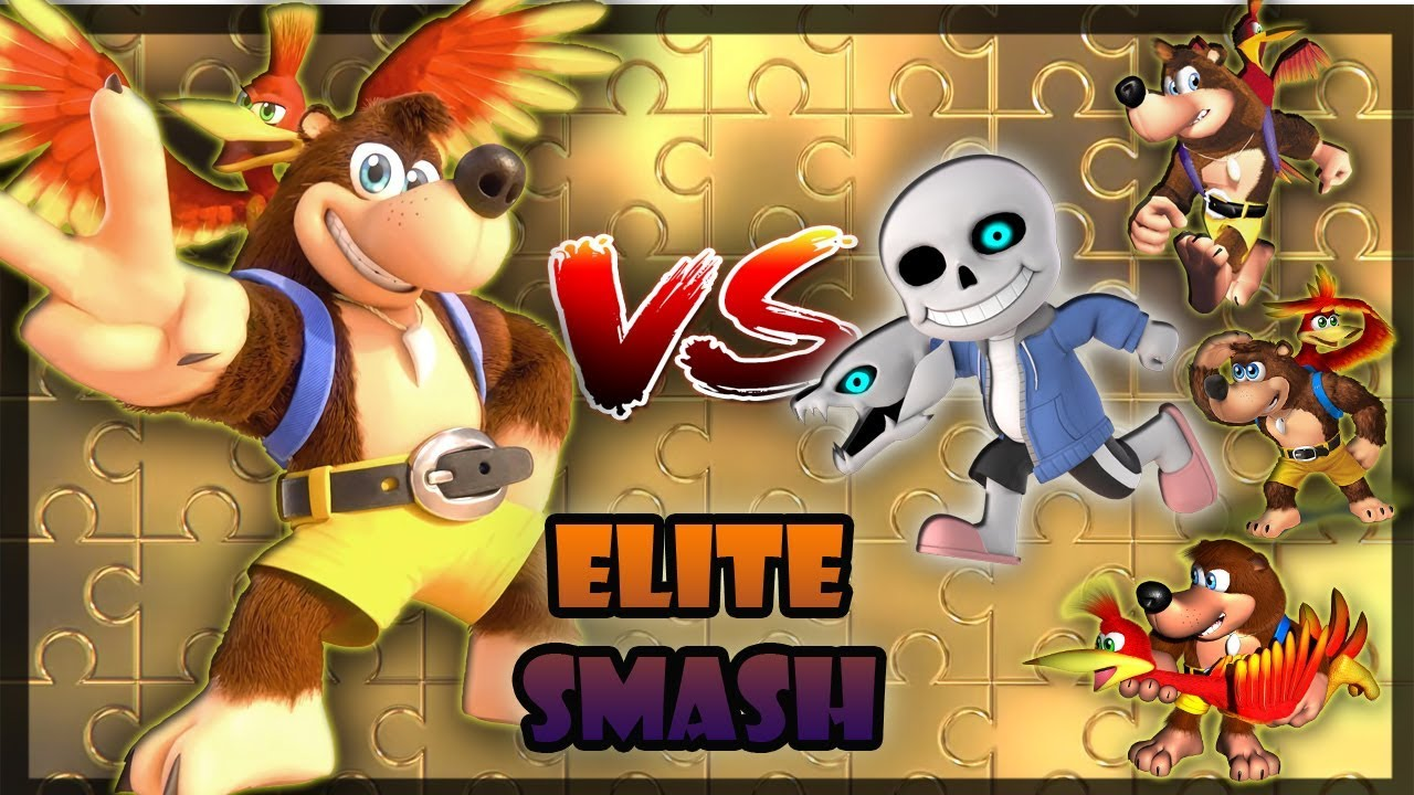 ¡ METIENDO A BANJO EN ELITE ! | Smash Ultimate | Por Laxsei