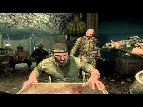 Black Ops - Russian Roulette Scene | Also Bowman's death :( [720p HD]