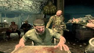 Black Ops - Russian Roulette Scene   Also Bowman's death :( [720p HD]