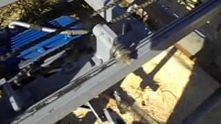Самодельная поворотная дисковая пилорама. Устройство.(После работы на пилораме появилось желание переделать кое-какие узлы. Упростить. Изначально пилорама изгот..., 2013-09-15T11:02:56.000Z)