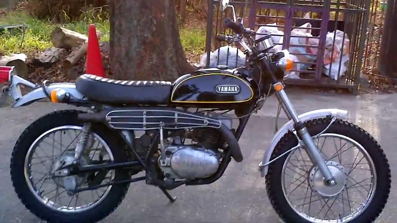 Old Dirt Bike 1970 YAMAHA RT360