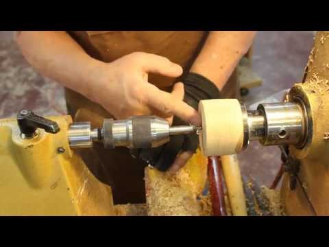 FUNdamentals of Woodturning: #5 Make a screw Chuck