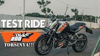 TEST RIDE KTM DUKE 200 - TORSINYA GAK NAHAN!!!