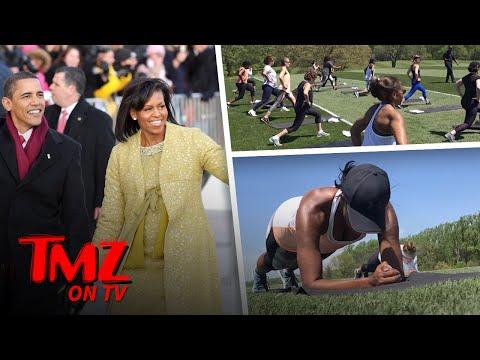 Michelle Obama Is Lookin Pretty AMAZING   TMZ TV