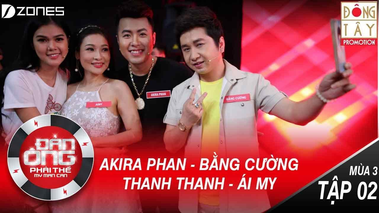 Đàn Ông Phải Thế Mùa 3   Tập 2 Full HD: Việt Hương Nghĩ Bằng Cường Bà Con Bằng Kiều (15/07/2017)