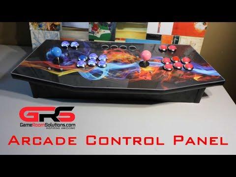Gameroom Solutions Arcade Control Panel Unboxing & Setup