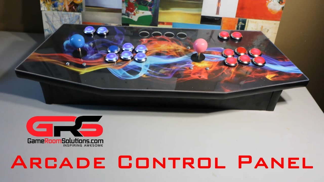 gameroom solutions arcade control panel unboxing setup youtube