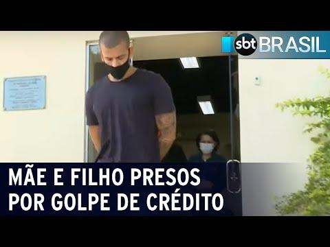 RJ: mãe e filho são presos por aplicar golpe do empréstimo consignado | SBT Brasil (26/05/21)