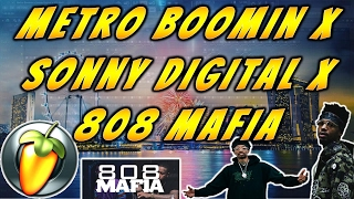 free flp sonny digital x metro boomin x 808 mafia type beat prod cold x beats hard trap