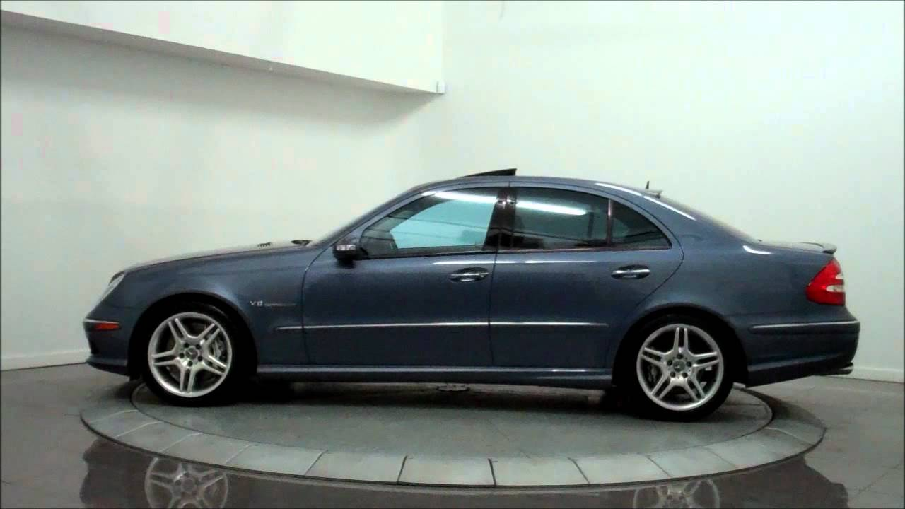 2004 mercedes benz e55 amg performance youtube. Black Bedroom Furniture Sets. Home Design Ideas