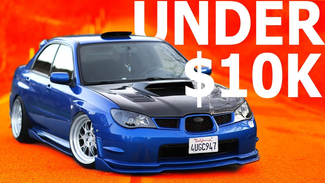 TOP 7 Used Sports Cars Under $10,000