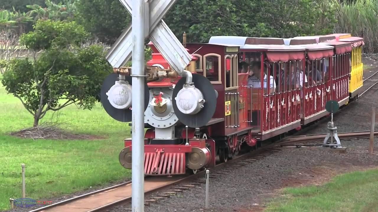 Dole Plantation Train Ride Wahiawā, HI - YouTube