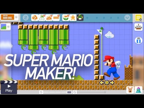 TechnoBuffalo Plays: Super Mario Maker!