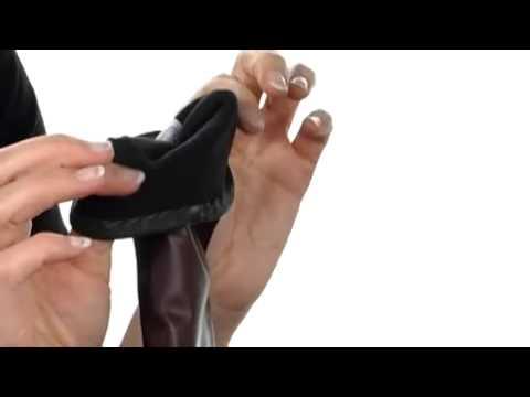 Echo Design Leather Colorblock Long Glove SKU:#8039759