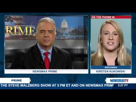 Newsmax Prime | Kirsten Kukowski discusses Scott Walker's announcement for president