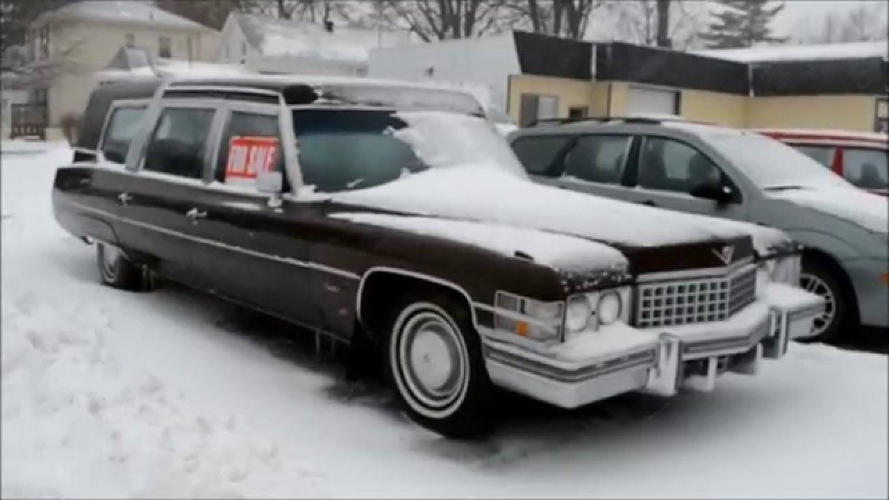 hearses hearse for cadillac pinterest eureka deville pin sale
